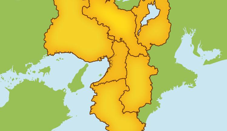 大阪府・兵庫県・京都府・奈良県