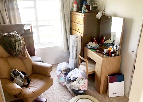ご主人の書斎の整理